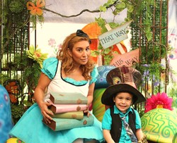 Midnight Wonderland 30th Un-birthday Party - Alice in Wonderland