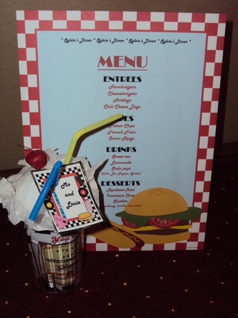 Sock hop 50 39 s theme birthday party ideas photo 1 of 35 for 50 s party decoration ideas