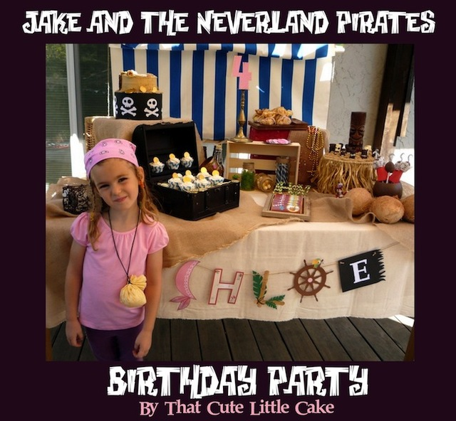 Decorating Ideas > Jake And The Neverland Pirates Birthday Party Idea ~ 025644_Birthday Party Ideas Jake And The Neverland Pirates