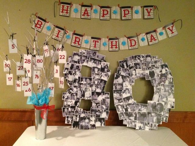 80th birthday party ideas photo 1 of 11 catch my party for 80th birthday decoration
