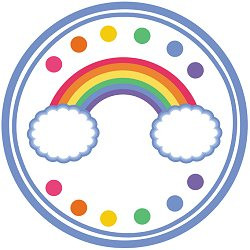 photograph about Free Printable Rainbow named Rainbow Get together Printables Absolutely free Down load - Birthday Capture My