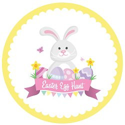 easter bunny egg hunt love party printables