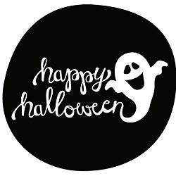 free printables halloween party happy ghost