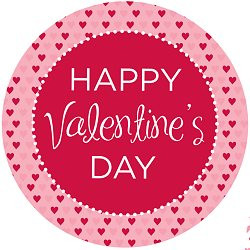 free printables valentines day party happy heart