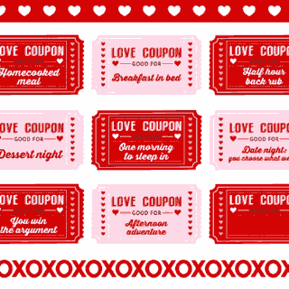 Valentine 39 s day printables for your party catch my party - Code promo paul valentine ...