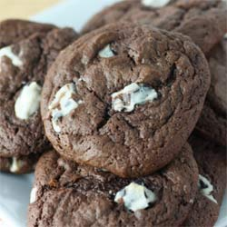 Chocolate-cookie-batter-cookie-recipe
