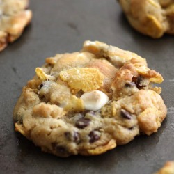 Cornflake-chocolate-chip-marshmallow-cookie-recipe