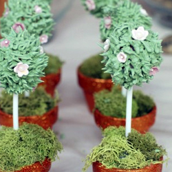 Lollipop-topiaries