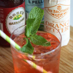 Mint-orange-bitters-mocktail-recipe