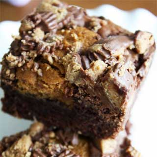 Peanut-butter-cup-brownie-recipe