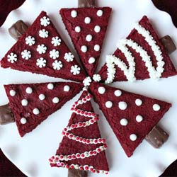 Red-velvet-christmas-tree-brownies