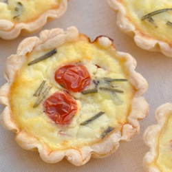 Ricotta-rosemary-tomato-mini-quiche