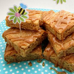 Salted-caramel-blondie-recipe