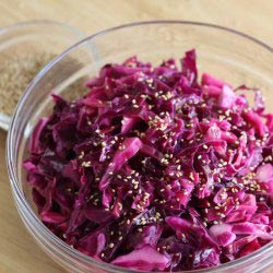 Sesame-red-cabbage-salad-recipe
