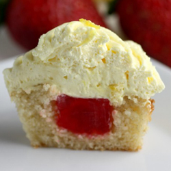 Strawberry-lemon-jello-cupcake-recipe