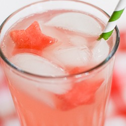 Watermelon-ice-cubes