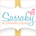 Sassaby {DIY Printable Parties}