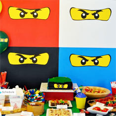 Ninjago-party-ideas